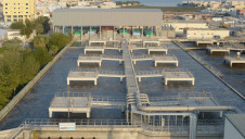 The treatment plant at Tubli, Bahrain, will produce 230,000 m3/d of water for reuse